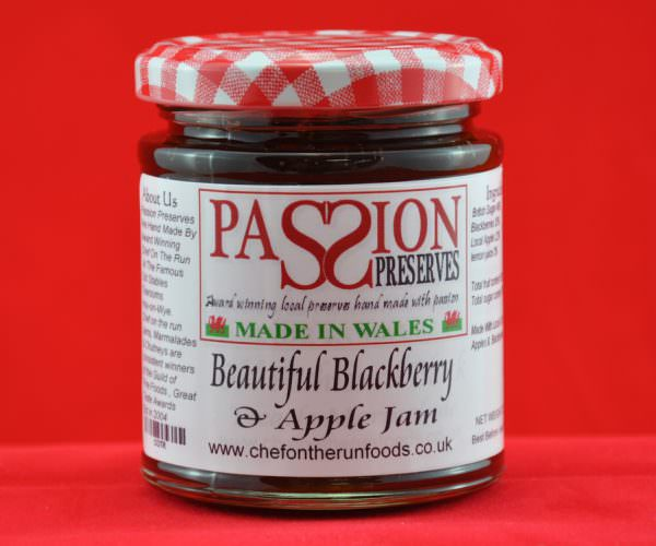 Beautiful Blackberry and Apple Jam