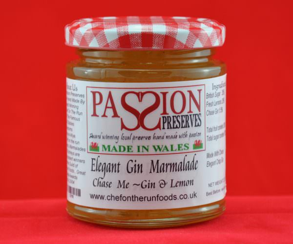 Elegant Gin Marmalade - Chase Me Gin and Lemon
