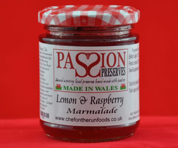 Lemon and Raspberry Marmalade