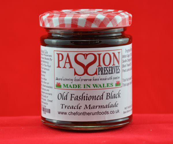 Old Fashioned Black Treacle Marmalade