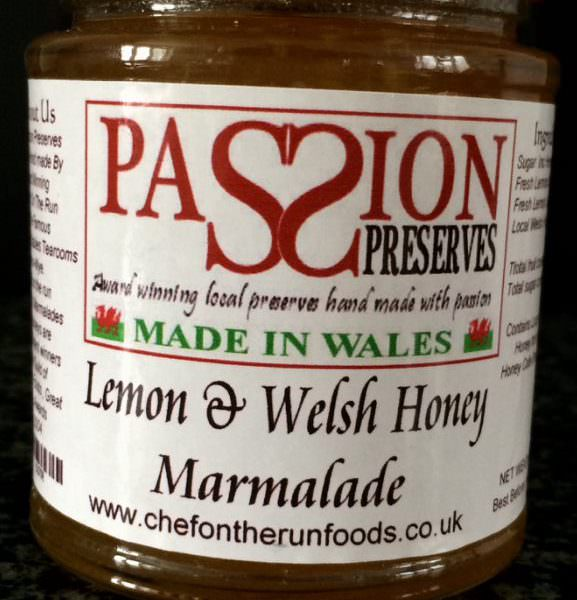 Lemon & Welsh Honey Marmalade