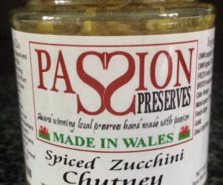 Spiced Zucchini (Courgette) Chutney